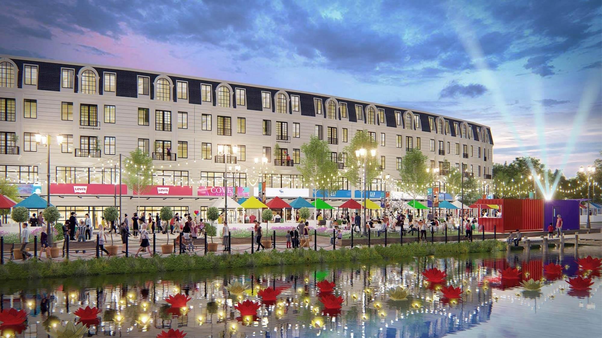 Ha Tien Centroria: Tổ hợp thương mại mặt tiền chợ đêm tại TP. Hà Tiên chính thức ra mắt