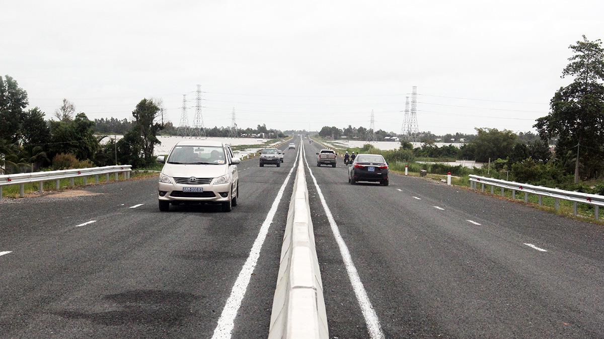 Cao tốc Lộ Tẻ - Rạch Sỏi thông xe kỹ thuật